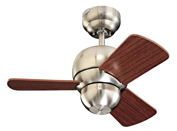 Monte Carlo Micro Ceiling Fan   24  Brushed Steel. 11 best Ceiling fan images on Pinterest   Bronze ceiling fan