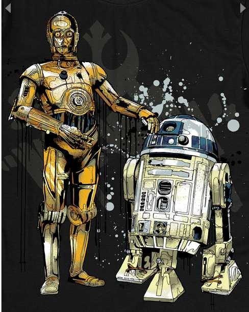 Droids by Mitchy Bwoy
