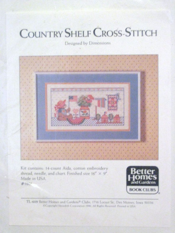 97 best images about cross stitch on pinterest for Better homes and gardens media kit