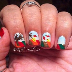 316 best nail art for fall images on pinterest autumn stripe 35 cool nail designs to try this fall prinsesfo Choice Image