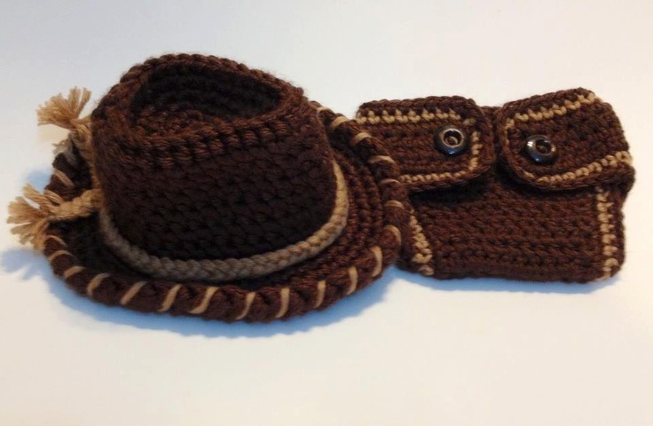 17 Best images about Crochet for baby wild west on ...