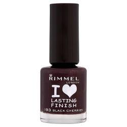 Rimmel Lasting Finish 193 Black Cherries 8ml