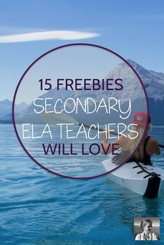 If you'd like some new projects, bulletin boards, activities and discussion options for your high school ELA classroom, check out this post! In it, you'll find fifteen of the best secondary ELA freebies on TPT.