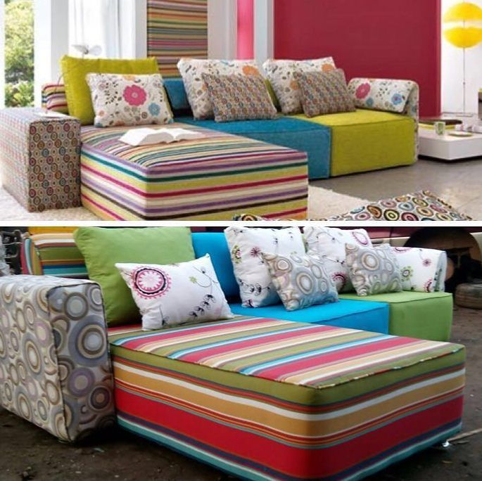 The 25 Best Multicoloured Sofa Design Ideas On Pinterest