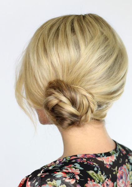 Wedding Updo Ideas for Short Hair | StyleCaster