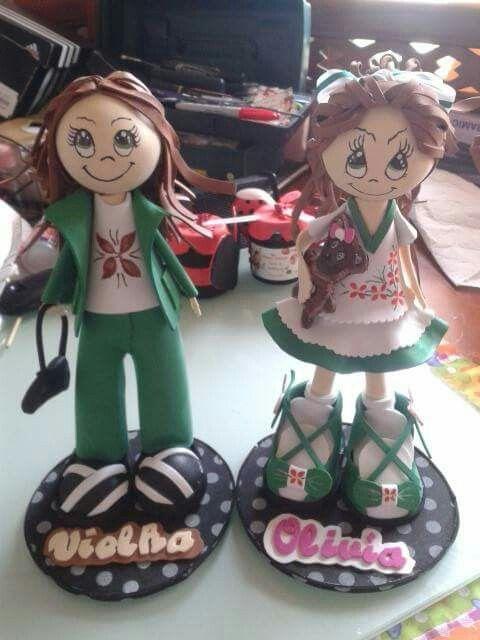 Vielka y Olivia