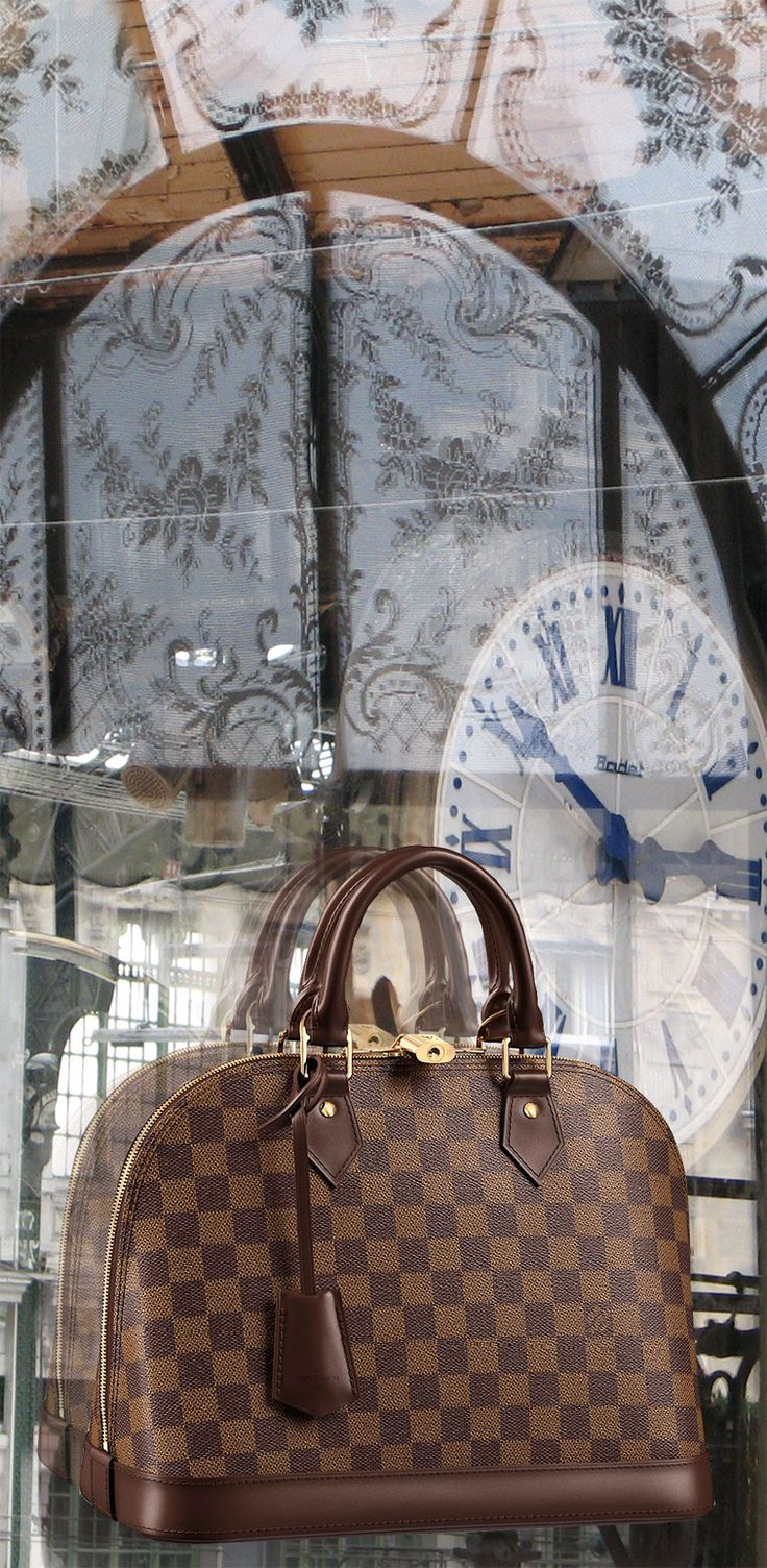 Alma PM Damier Ebene Canvas ~Louis Vuitton... OK...you already know...no words needed