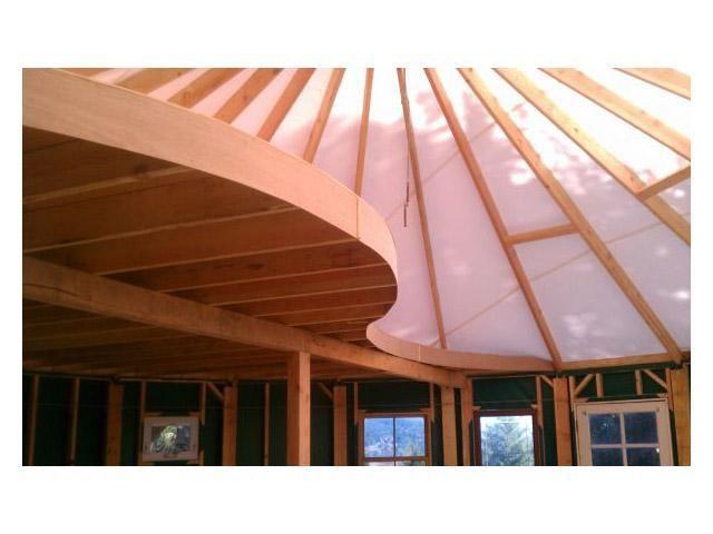 Yurt Home - cool yurt loft!