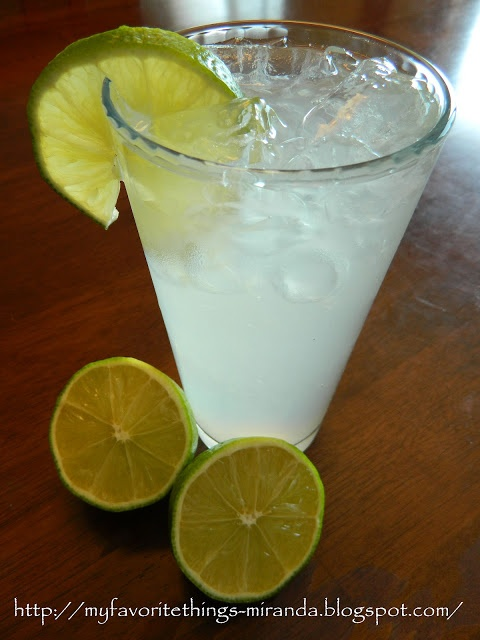 My Favorite Things: Refreshing Limeade with a Touch of Lemon