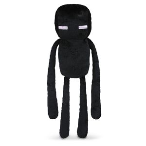 Minecraft 7 inch Enderman Soft Toy - Soft Toys Toys at Play.com (UK)