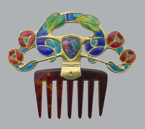 Diadem Comb for Liberty & Co by ARCHIBALD KNOX - Tadema Gallery