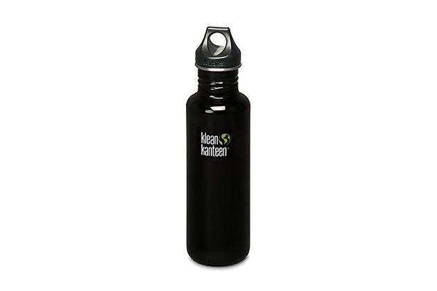 The Best Water Bottle | The Klean Kanteen Stainless Steel Bottle is our overall favorite bottle. It's stainless steel so unwanted smells and tastes are kept to a minimum. Plus, it has a loop cap so you can attach it to a carabiner or backpack or whatever.