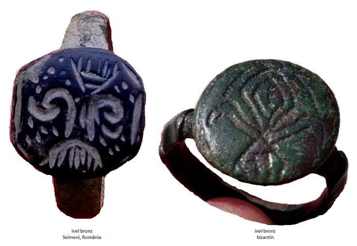 Inelul din bronz de la Seimeni şi inelul din bronz bizantin