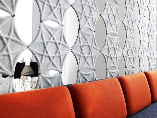 Airflake Abstracta ideen moderne designer trennwand