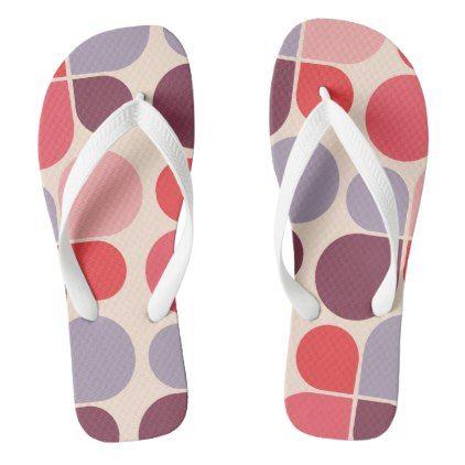 abstract drops flip flops - simple clear clean design style unique diy