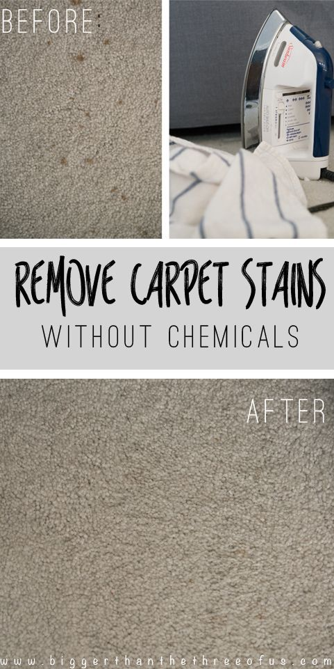 Remove Carpet Stains (Including Wine!) without Chemicals