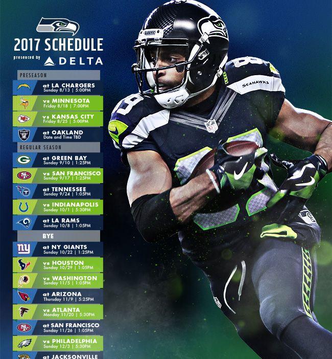 Seattle Seahawks Schedule