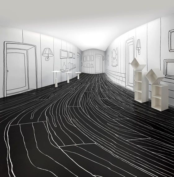 Nendo Solo Show, Taiwan... imagine if this was your kid's room...