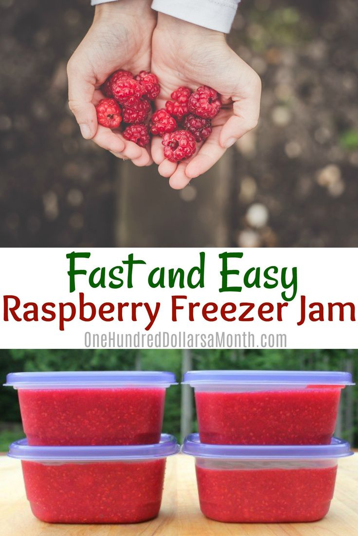 This morning I whipped up a batch of raspberry freezer jam.I LOVE canning. But freezer jam? Heck ya! This stuff takes all of about 10 minutes to make. Plus, it doesn't heat up the kitchen. Who wouldn't love that? Here is my fast and easy raspberry freezer jam recipe: Ingredients 2 pounds fresh raspberries 1 …