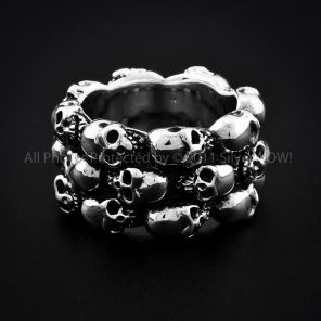30 Best Silver Skull Bracelets Skull Jewelry Images On
