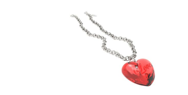 MyG Necklace Love! Red – MyG jewels - 34€  ‪#‎MyG‬ ‪#‎LOVE‬! ‪#‎cool‬ ‪#‎Design‬ ‪#‎christmas‬ ‪#‎gift‬ ‪#‎christmasgift‬