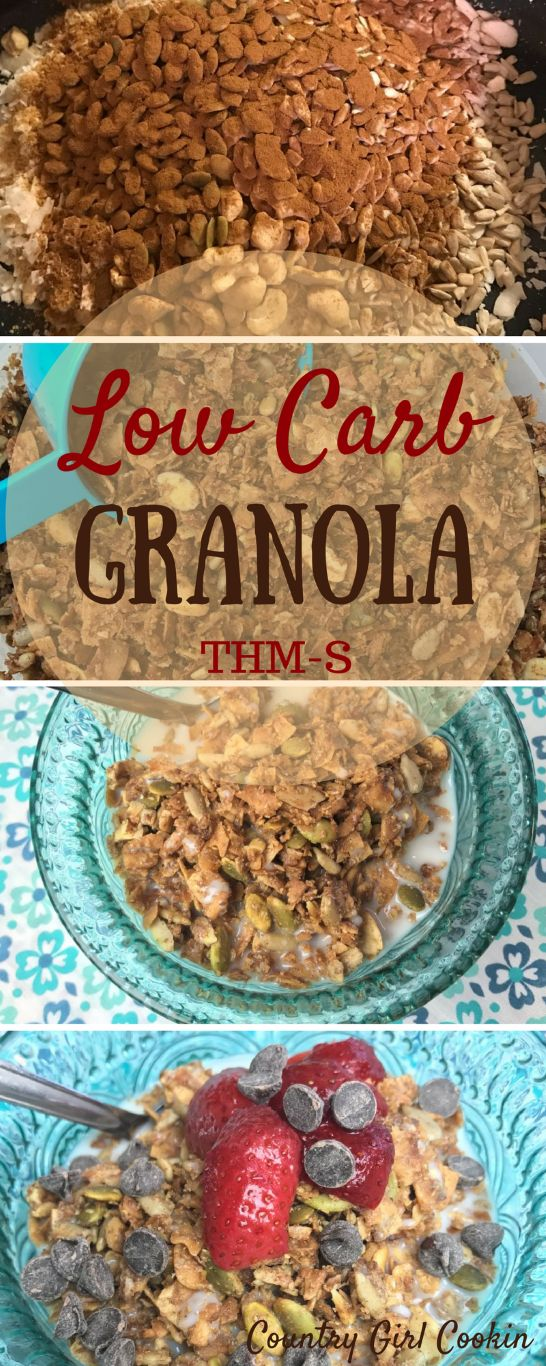 Low Carb Granola (THM-S)