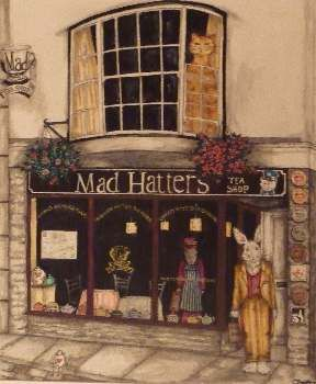 Mad Hatters tea rooms in Launceston offer gf pasty and pizza!  Lots of gf items to choose from. #coeliac #cornwall Follow us @coeliacin on twitter.