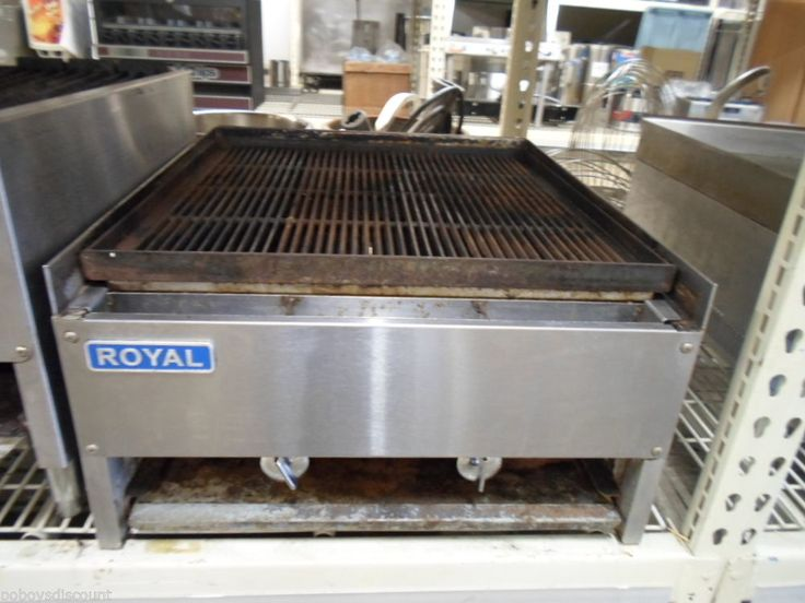 Royal Range Rcb 24 24 Quot Restaurant Commercial Char Rock