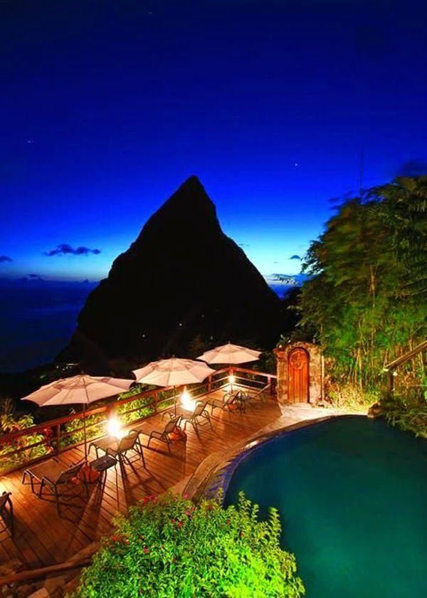 Travel Gallery: Ladera Resort, St. Lucia Caribbean