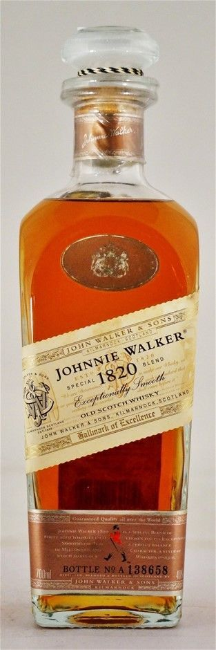 Johnnie Walker `Special 1820 Blend` Old Scotch Whisky (1x700ml), Scotland