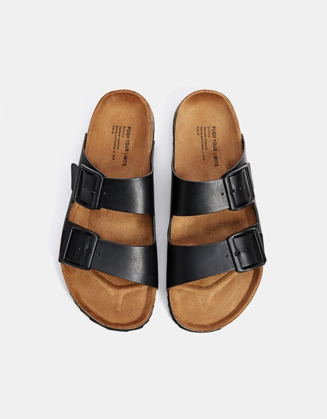 267157c7fa966 Men s buckled sandals - Bershka  fashion  newin  new  editorial  edit   lookbook  photography  cool  trend  trendy  ideas  inspiration  outfit   young  summer ...