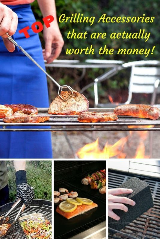 Now you can easily transform your grill into a versitile, non-stick surface. How? 10 top-of-the-line grilling accessories that are worth their weight in gold.