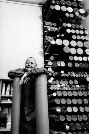Charlotte Perriand 9 rue Montalembert, Paris  1991