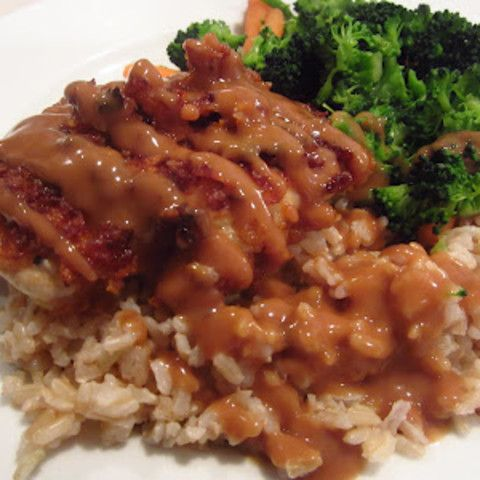 You know that crispy peanut butter chicken you can often find on Chinese buffet tables? This is it. Or... a very close approximation of how to make it yourself. - Peanut Butter Chicken