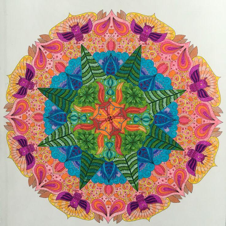 Mielikuvia Mental Images vol 2 colouring book by Päivi Vesala.  www.paivivesala