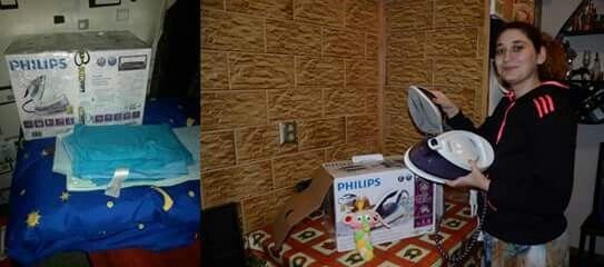 Am primit statia de calcat Phillips #PhilipsPerfectCare, din cadrul campaniei BUZZStore & Acasă cu Philips   Multumesc, abia astept sa o testez!