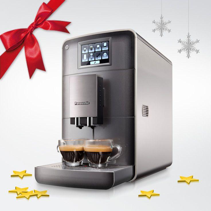 Den Kaffevollautomaten hinter Tür 6 in unserem Adventskalender kannst Du auch ohne geputzte Stiefel bekommen ;-) @PanasonicDeutschland