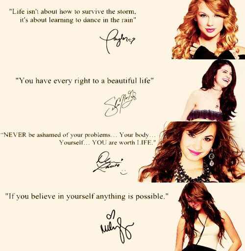 Image detail for -demi lovato, just mine, miley cyrus, quotes, selena gomez - inspiring ...