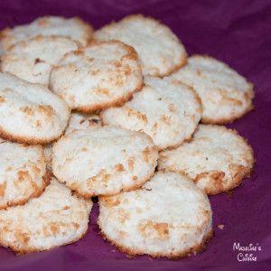 Fursecuri simple cu cocos / Simple coconut cookies - Madeline's Cuisine