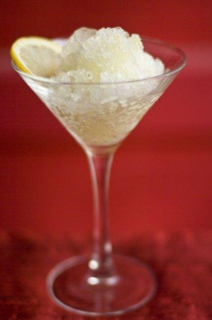 Lemon Granita   When Life Gives You Lemons   Pinterest