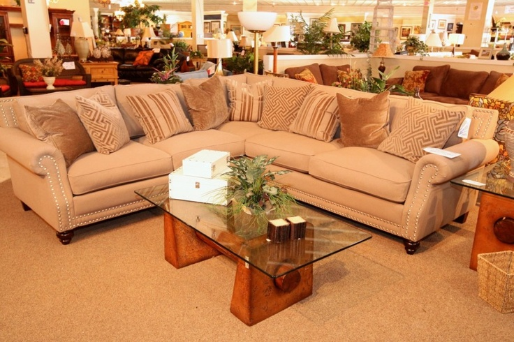 Robert Michael  Rochelle  2 Pc Sectional - Colleenu0027s Classic Consignment Las Vegas NV - .colleenconsign.com | Cozy Living Rooms | Pinterest | Cozy ... : robert michael ltd sectional - Sectionals, Sofas & Couches