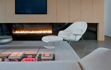 Linear by Montigo Levin Residence - modern - living room - phoenix - Ibarra Rosano Design Architects Doris Rug