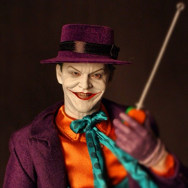 """""""I have given a name to my pain, and it is Batman"""" #hottoys #joker #dx08"""