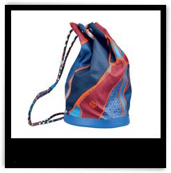 Hermès 'Carré en Cravates' Soie-Cool Bag | The Zoe Report - for Mother's Day, my bday or just because :) perect gift!