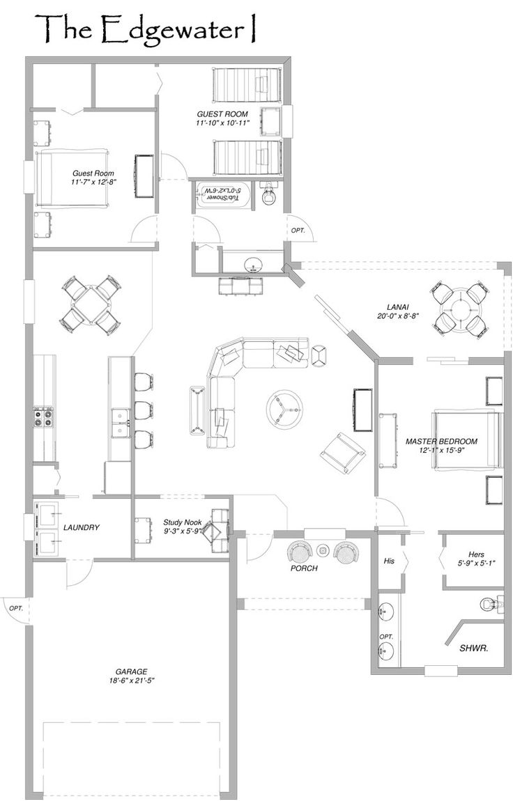 33 best house plans images on pinterest home plans for Edgewater house plan