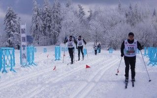 Cross country skiing in the Beskids - Magurka Mountain, Wilkowice.