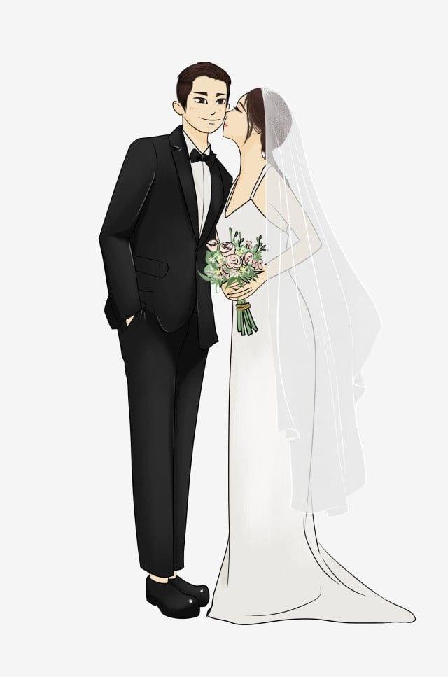 San Valentino Propone Matrimonio Acquerello Sposa Confessione Tanabata Dipinto A Mano Png E Vector Per Il Download Gratuito Bride Cartoon Wedding Painting Wedding Drawing