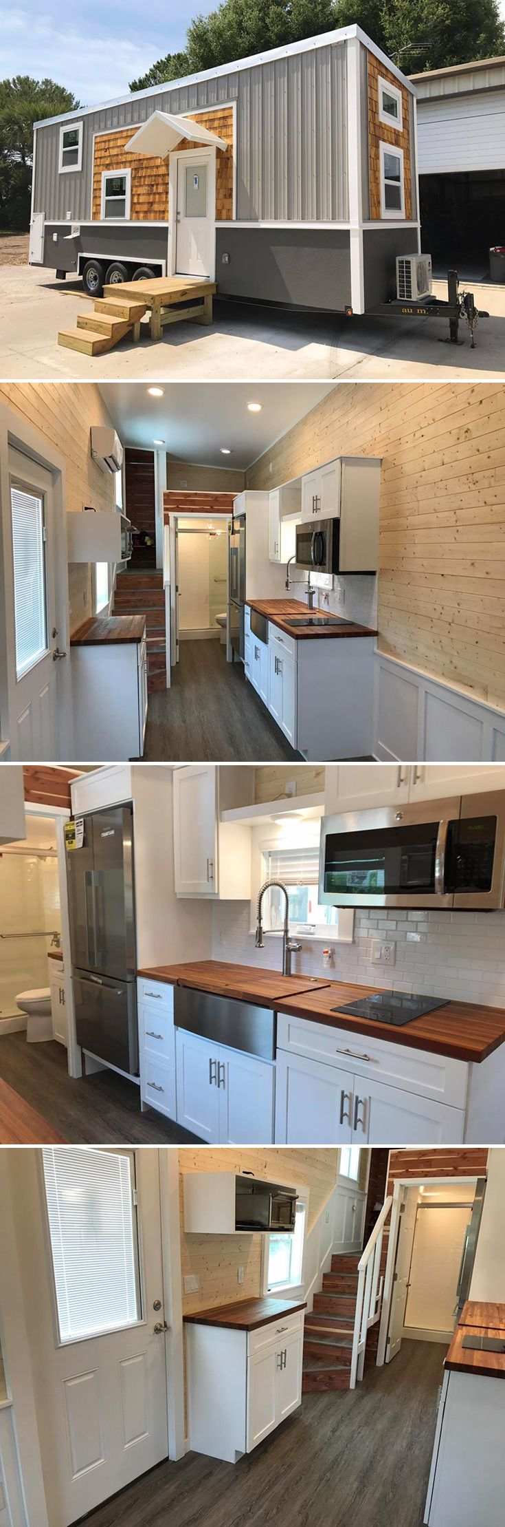 The Sportsman is the first collaborative build between Adam Lehman of A New Beginning Tiny Homes and Andrew Bennett of Trekker Trailers.