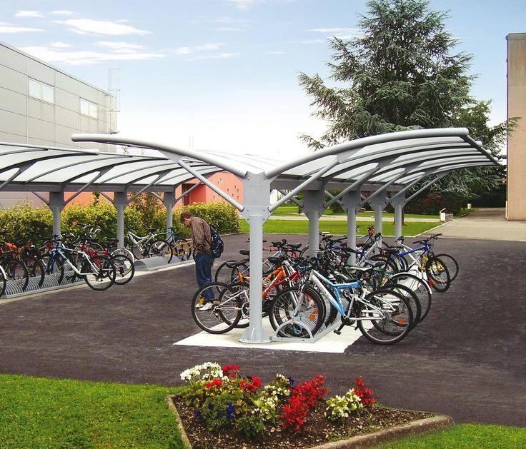 Covered Bike Shelter Width : Best bike parking covered images on pinterest