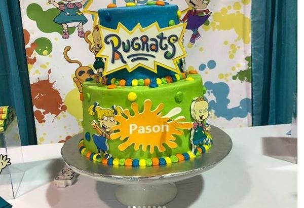 Surprising Rugrats Party Ideas With Images Boys First Birthday Party Funny Birthday Cards Online Necthendildamsfinfo
